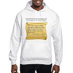 Traditional Marriage Hooded Sweatshirt