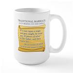 Traditional Marriage Large Mug