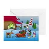 Boston Elves Greeting Cards (Pk of 10)