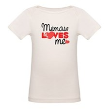Memaw Love Me (red) Tee