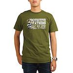 Protective Fathers Organic Men's T-Shirt (dark)