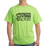 Protective Fathers Green T-Shirt