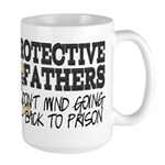 Protective Fathers Large Mug