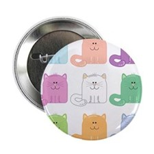 9 Cats Button
