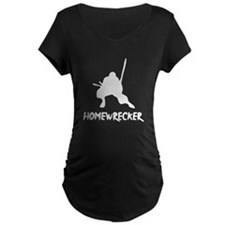 Home Wrecker Maternity Dark T-Shirt