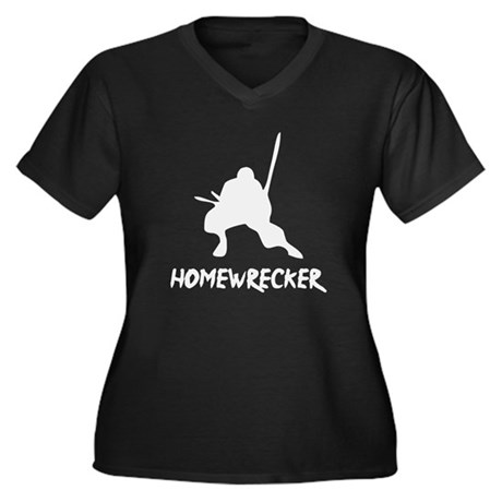 Home Wrecker Plus Size V-Neck Shirt