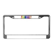 I'm an Ally License Plate Frame