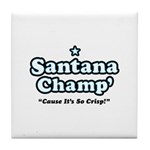 'Champ' so Crisp Tile Coaster