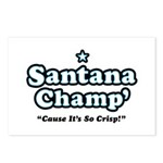 'Champ' so Crisp Postcards (Package of 8)