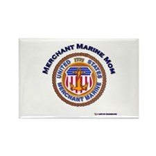 Merchant marine Mom Rectangle Magnet (10 pack)