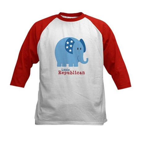 Little Republican Kids Baseball Jersey