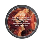Death Nihilism Epicurus Wall Clock