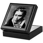Schopenhauer Philosophy Truth Keepsake Box