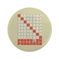 "Bachelor in Progree 3.5"" Button (100 pack)"