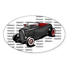 Louvered Deuce Oval Sticker