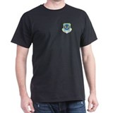 15th Air Force Black T-Shirt