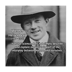 Heisenberg Natural Science Tile Coaster