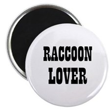 "RACCOON LOVER 2.25"" Magnet (10 pack)"