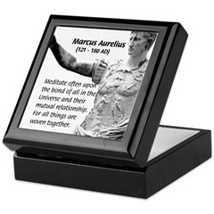 Universe: Marcus Aurelius Keepsake Box
