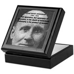 Philosopher: Alfred Whitehead Keepsake Box