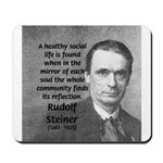 Steiner: Education School Mousepad