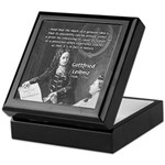 Leibniz Origins of Calculus Keepsake Box