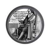 Mathematics: Blaise Pascal Wall Clock