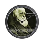 Charles Darwin: Science Wall Clock