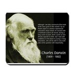 Charles Darwin: Science Mousepad