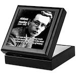 History Aldous Huxley Keepsake Box