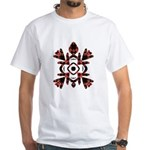 Abstract Sea Turtle White T-Shirt