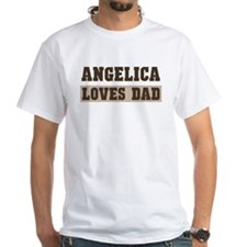 Angelica loves dad Shirt