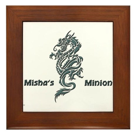 Misha's Minion - 1 Framed Tile