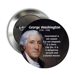 Politics: George Washington Button
