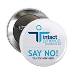 &quot;Say NO!&quot; 2.25&quot; Button