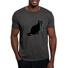 Cat w/ Whale T-Shirt