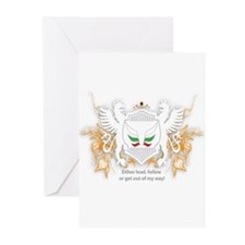 Unique Lione Greeting Cards (Pk of 10)