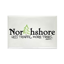 Northshore Rectangle Magnet