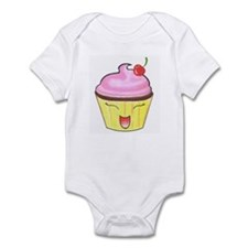 Lil' Happy Cupcake Infant Bodysuit
