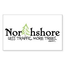 Northshore Rectangle Decal