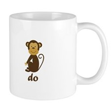 Monkey See Monkey Do Small Mugs