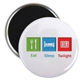 Eat Sleep Twilight Magnet
