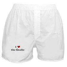 I Love the Goalie Boxer Shorts