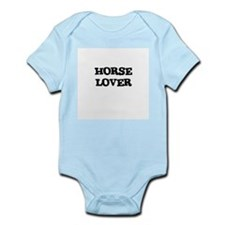 HORSE LOVER Infant Creeper