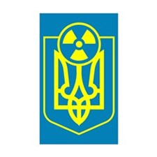 Chernobyl Rectangle Sticker 10 pk)