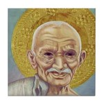 Gandhi Coaster Tile