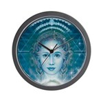 Blue Angel Wall Clock