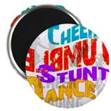 Cheer Shadows 2.25&quot; Magnet (10 pack)
