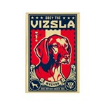 Obey the Vizsla! Patriotism Magnets (10 pack)