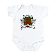 Burnett Tartan Shield Infant Bodysuit